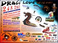 Plakát  DRAČÍ LODĚ  VELKÉ DÁŘKO 2013