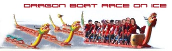 DRAGON BOAT RACE ON ICE